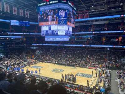 Capital One Arena section 202