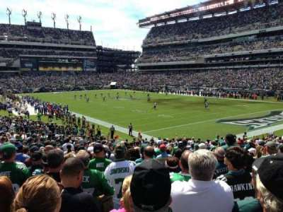 Lincoln Financial Field section 126