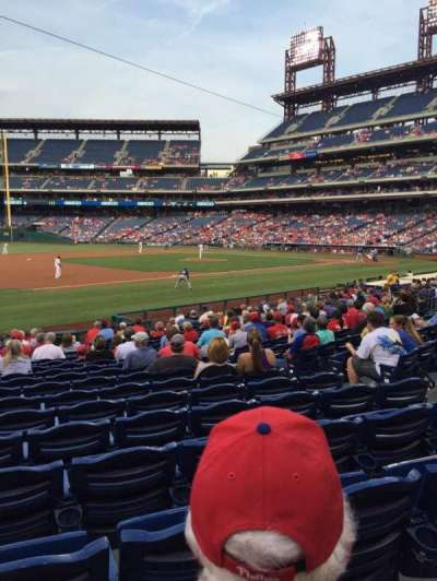 Citizens bank park  section 134
