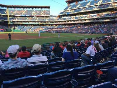 Citizens Bank Park, section: 134, row: 11, seat: 5
