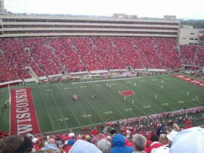 Camp Randall Stadium, section: ii, row: 40, seat: 7