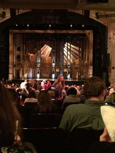 Orpheum Theatre (San Francisco), section: Orchestra Center, row: X, seat: 102