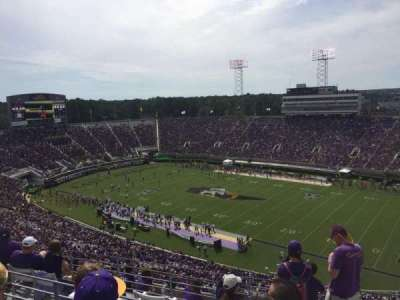 Dowdy-Ficklen Stadium, section: 214, row: H, seat: 2