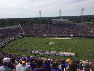 Dowdy-Ficklen Stadium, section: 216, row: S, seat: 23