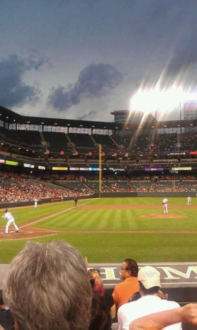 Oriole Park at Camden Yards, section: 26, row: 6, seat: 1