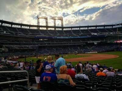 Citi Field, section: 109, row: 14, seat: 5