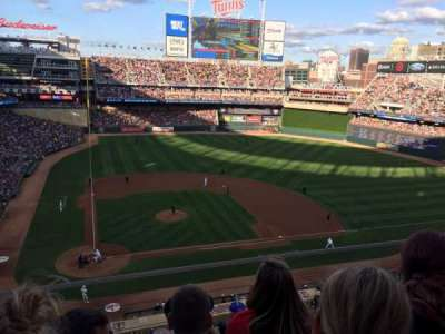 Target Field section 211