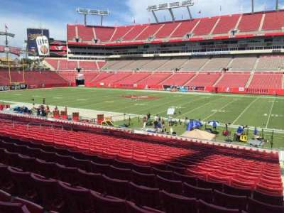 Raymond James Stadium section 113