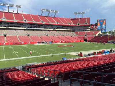 Raymond James Stadium section 107