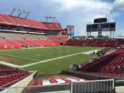 Raymond James Stadium section 102