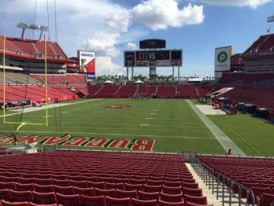 Raymond James Stadium section 149