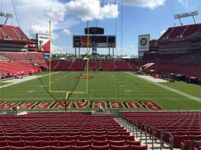 Raymond James Stadium section 148