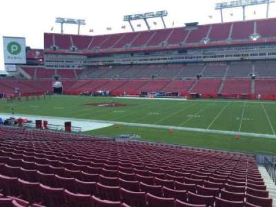 Raymond James Stadium section 138