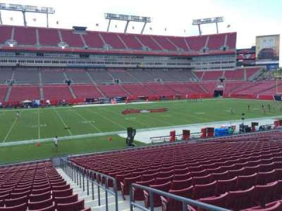 Raymond James Stadium section 133