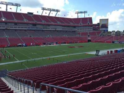 Raymond James Stadium section 131