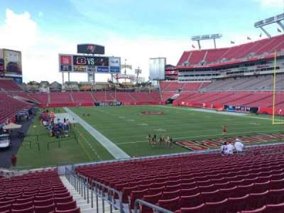 Raymond James Stadium section 120