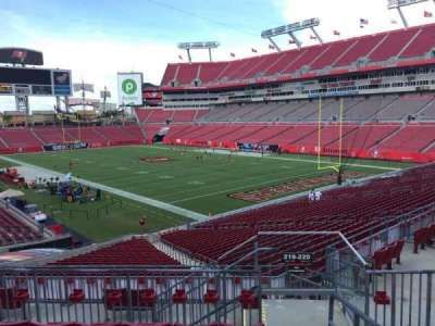 Raymond James Stadium section 219