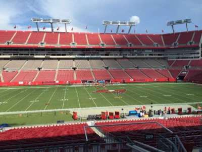 Raymond James Stadium section 209