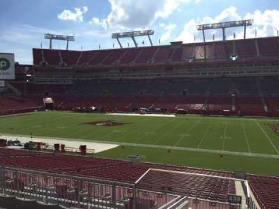 Raymond James Stadium, section: 238, row: F, seat: 22