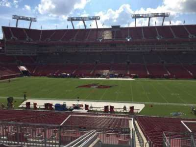 Raymond James Stadium, section: 236, row: F, seat: 22