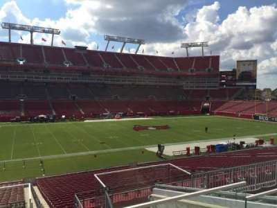 Raymond James Stadium, section: 232, row: F, seat: 24