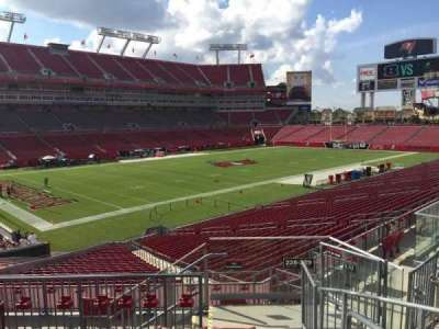 Raymond James Stadium section 228