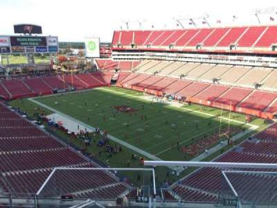 Raymond James Stadium section 318