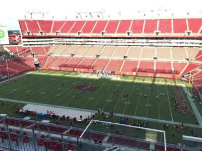 Raymond James Stadium, section: 313, row: E, seat: 24