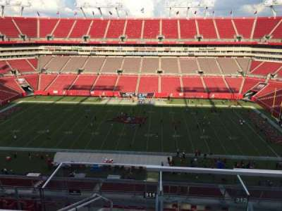 Raymond James Stadium section 311