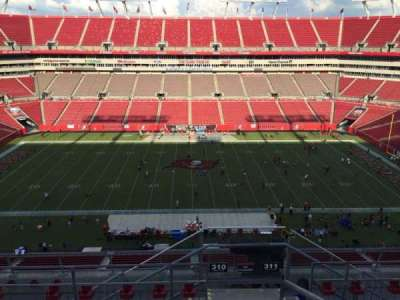 Raymond James Stadium, section: 310, row: E, seat: 24