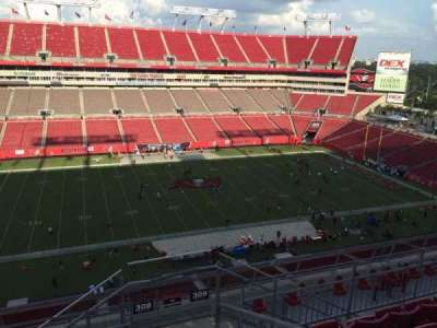 Raymond James Stadium section 308