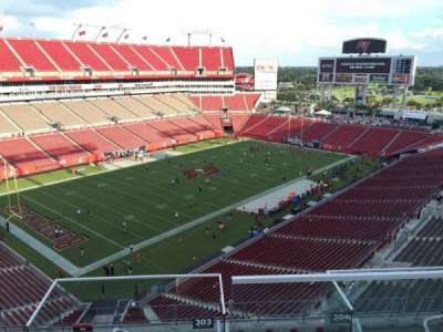 Raymond James Stadium, section: 303, row: E, seat: 24