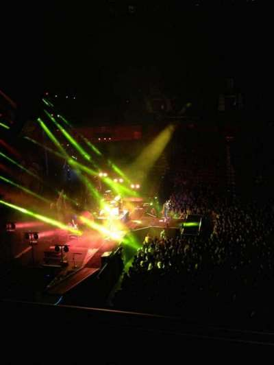 Mohegan Sun Arena, section: 119, row: A, seat: 3