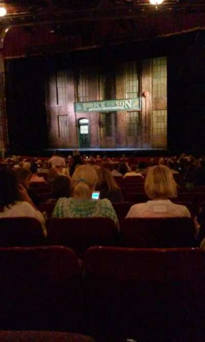 Cadillac Palace Theater, section: orchestra R, row: X, seat: 18