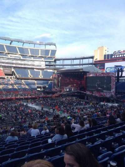 Gillette Stadium, section: 132, row: 29, seat: 20