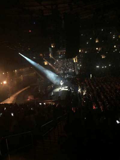 Madison Square Garden, section: 116, row: 20, seat: 1