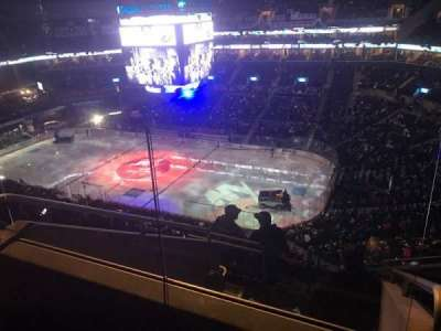 Barclays Center, section: 221, row: 8, seat: 13
