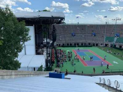 Forest Hills Stadium, section: 10, row: RR, seat: 15