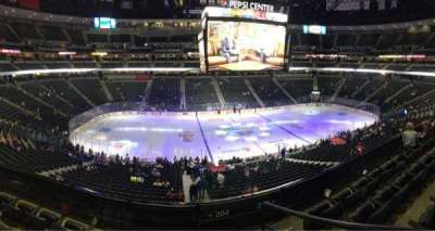 Pepsi Center section 204