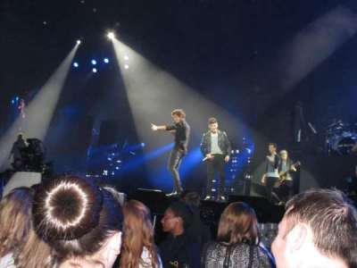 The O2 Arena, section: A3, row: C, seat: 51
