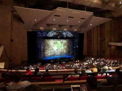 Keller Auditorium, section: 1st Balcony A, row: D, seat: 1