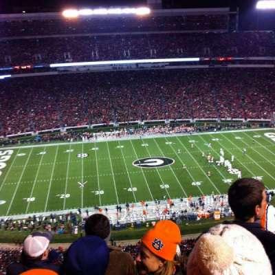 Sanford Stadium, section: 608, row: 9, seat: 19