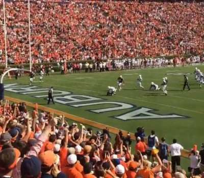 Jordan-Hare Stadium, section: 44, row: 20, seat: 7