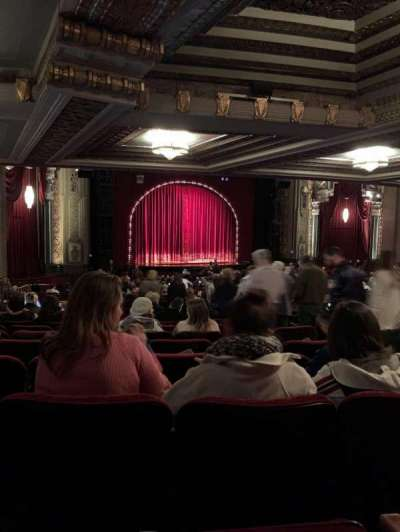Hollywood Pantages Theatre, section: ORCHL, row: WW, seat: 13