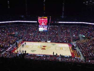 Hilton Coliseum, section: 211, row: 17, seat: 5