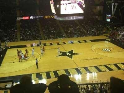 Memorial Gymnasium (Vanderbilt), section: 3J, row: 5, seat: 9