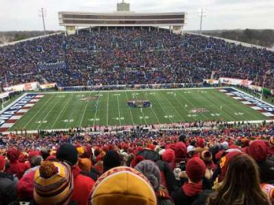 Liberty Bowl Memorial Stadium, section: 105, row: 94, seat: 5