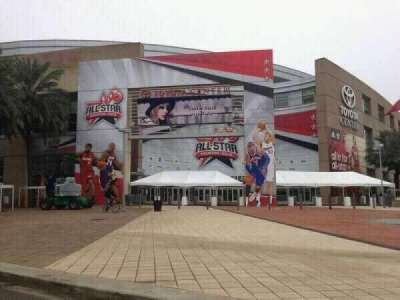 Toyota Center section Outside