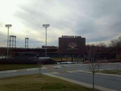 BB&T Ballpark (Winston-Salem) section Outside