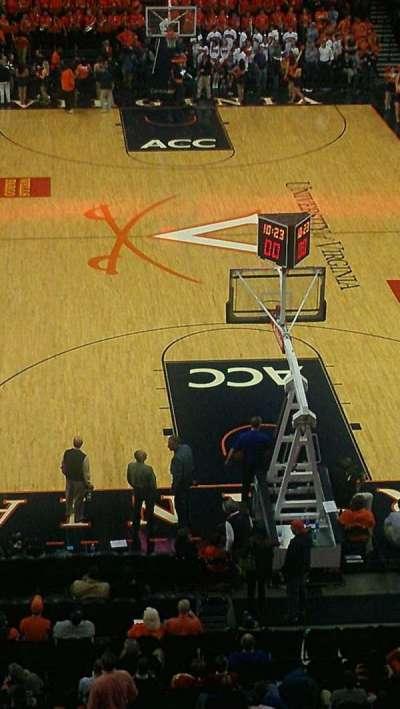 John Paul Jones Arena, section: 309, row: A